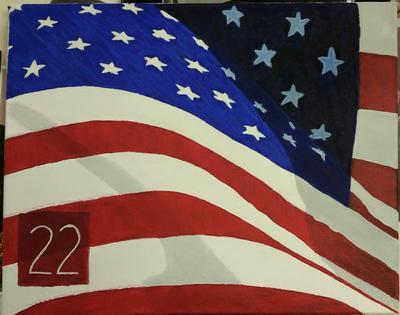 22 American Flag