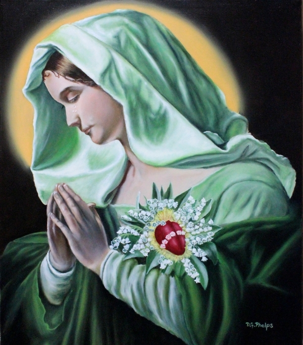 Mother Mary Sacred Heart