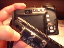 digital camera view size