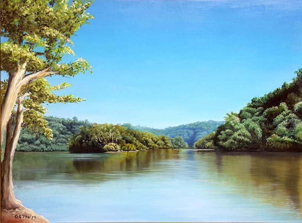 james river monican park art
