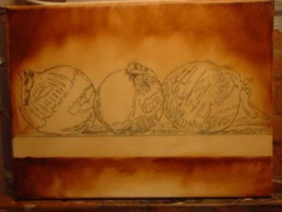 onion painting