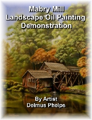 oil painting demonstration