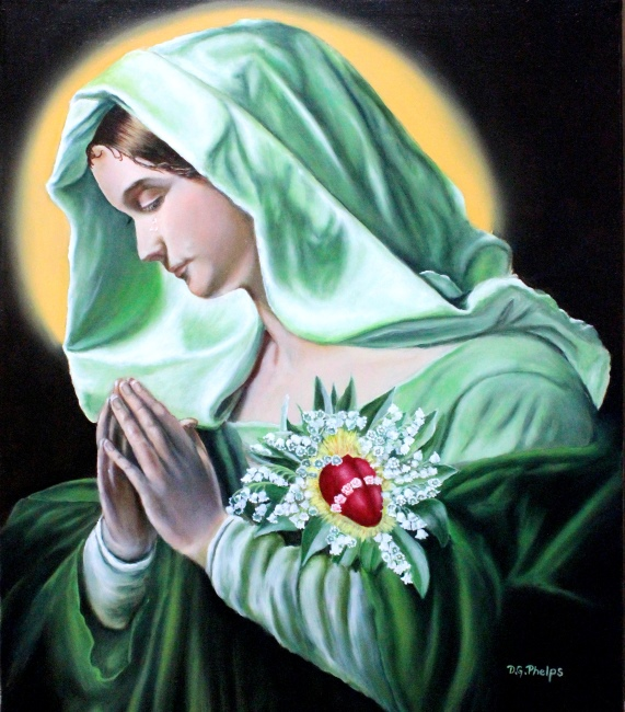 Mother Mary Painting