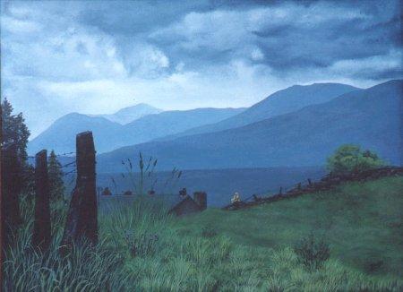 touch of clover British landscape