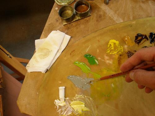 painting alla prima