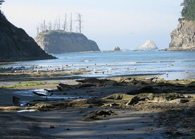 Sunset Beach Coos Bay  Oregon