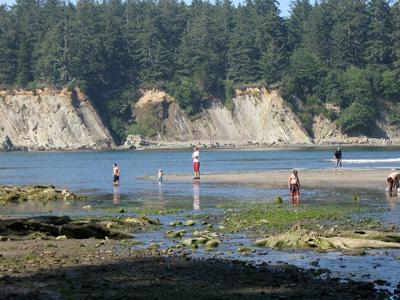 Sunset Beach Coos Bay  Oregon