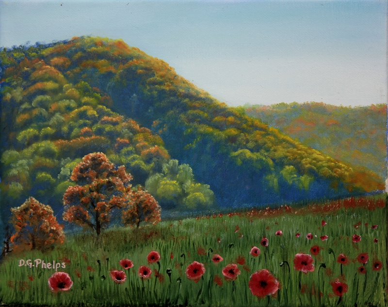 Bedford County Mountain Landscape Painting