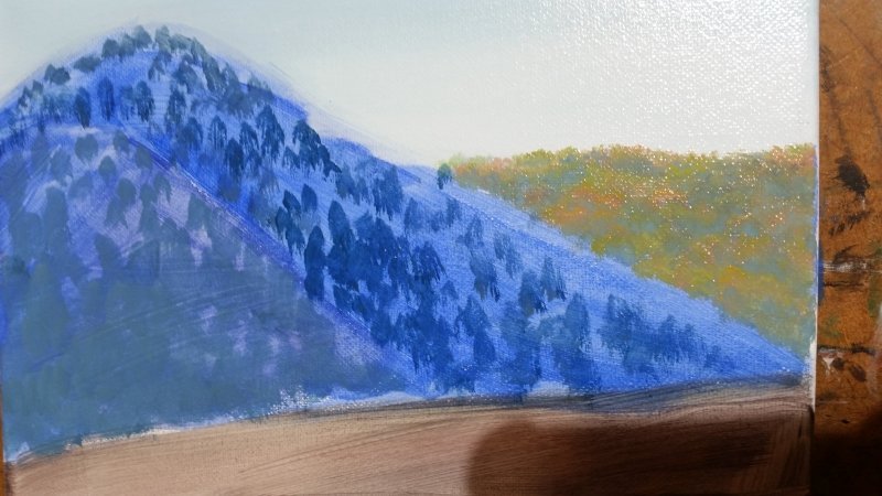 Mountain Painting A Crazy Good Shortcut For Realistic Results