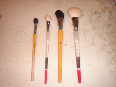 mop brushes I use
