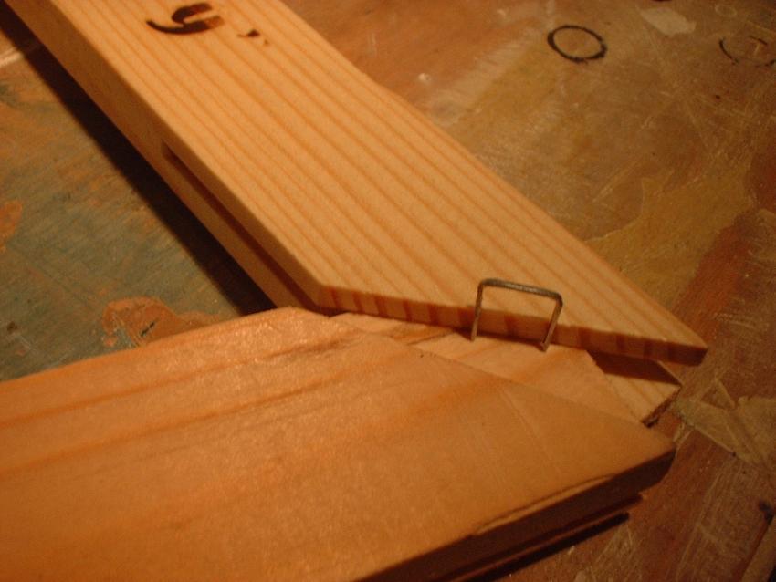 canvas stretcher tenon