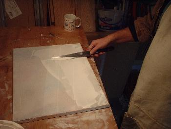 canvas prep work