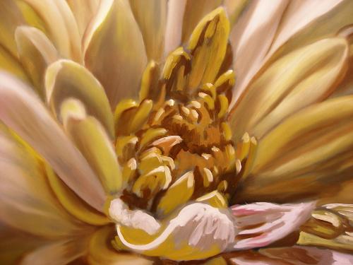 petals painting demo
