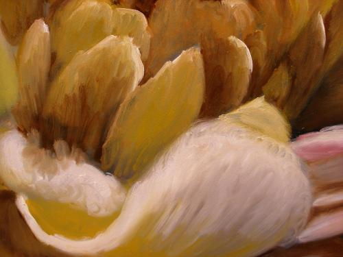 petals painting demonstration