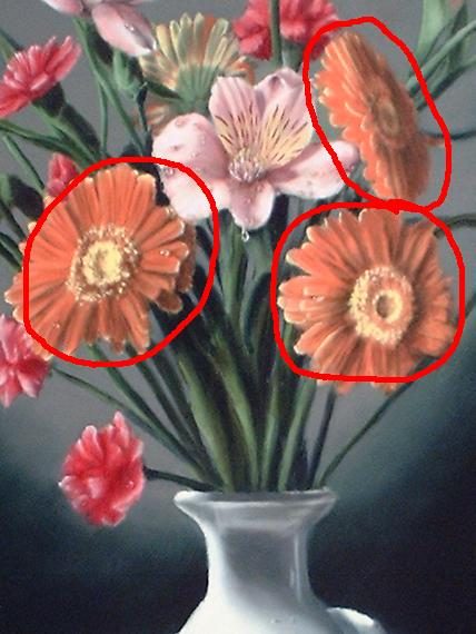 gerber daisy painting demonstration