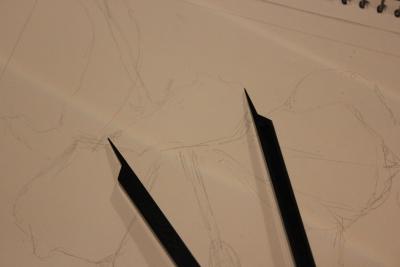 pencil drawing tools
