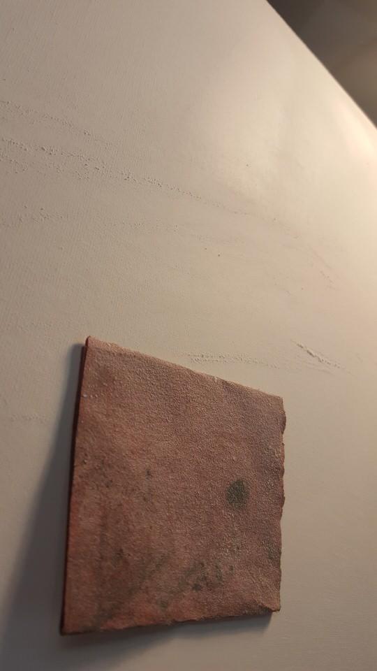sanding canvas smooth