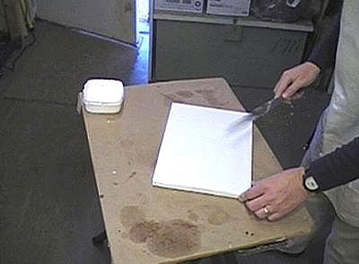 canvas preparation