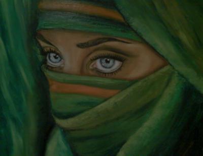 Girl Wearing Hijab