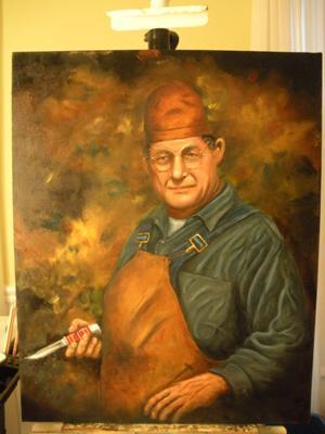 Portrait painting of H.H. Buck