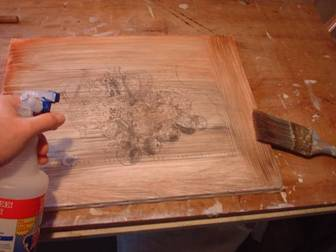 Imprimatura or toning the canvas the first layer in oil for Easy oil painting tutorial