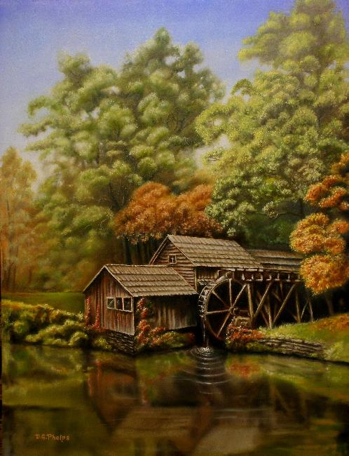 Landscape Painting Tips Using The Indirect Method For
