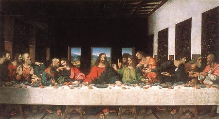 The Last Supper Copy restored, Leonardo Da Vinci