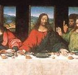 Christ in last supper