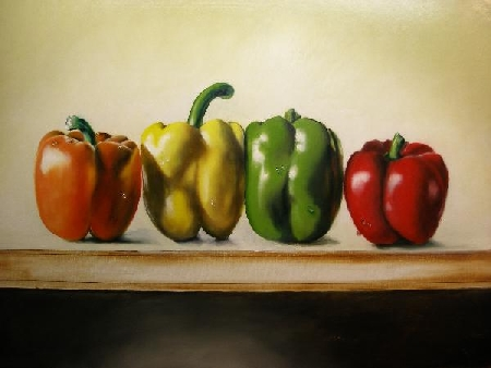 painting peppers