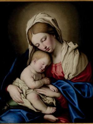 Madonna and Child Giovanni Battista Salvi known as Sassoferrato