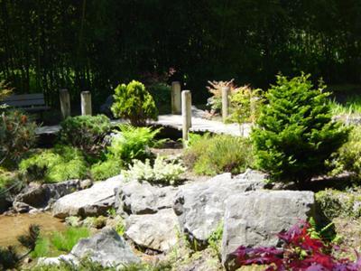 garden footbridge