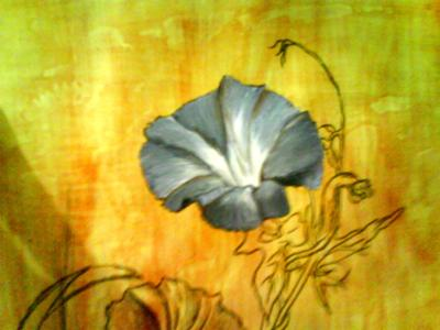 wildflower painting
