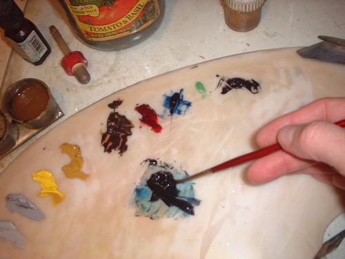 Food Art, Onions still life, painting lesson