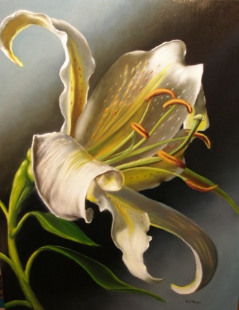 Your oil painting guide to critiquing your own work for Easy oil painting tutorial