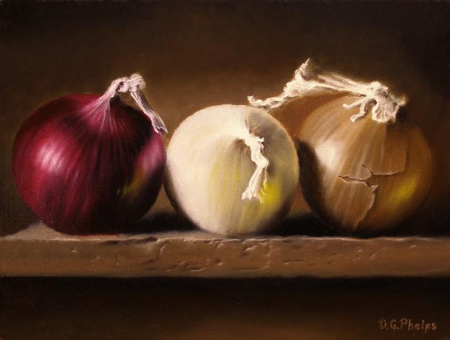 Sold paintings of artist d g phelps for Easy oil painting tutorial