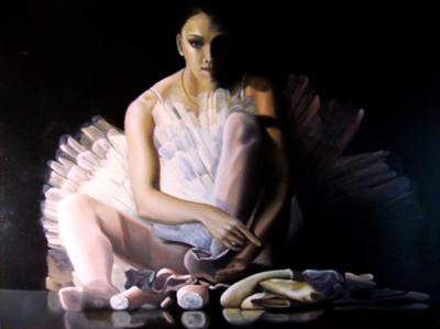 Ballerina Portrait