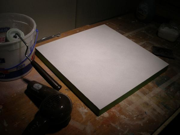 Hardboard Panel For Painting ~ How to gesso a panel masonite or hardboard the easy way