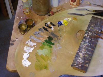 landscape color palette