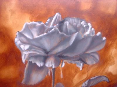 grey layer of painting