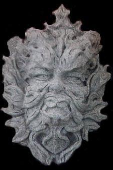 Sculpter head of Greek Methology Figure
