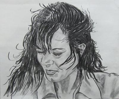 Graphite Art portrait drawing