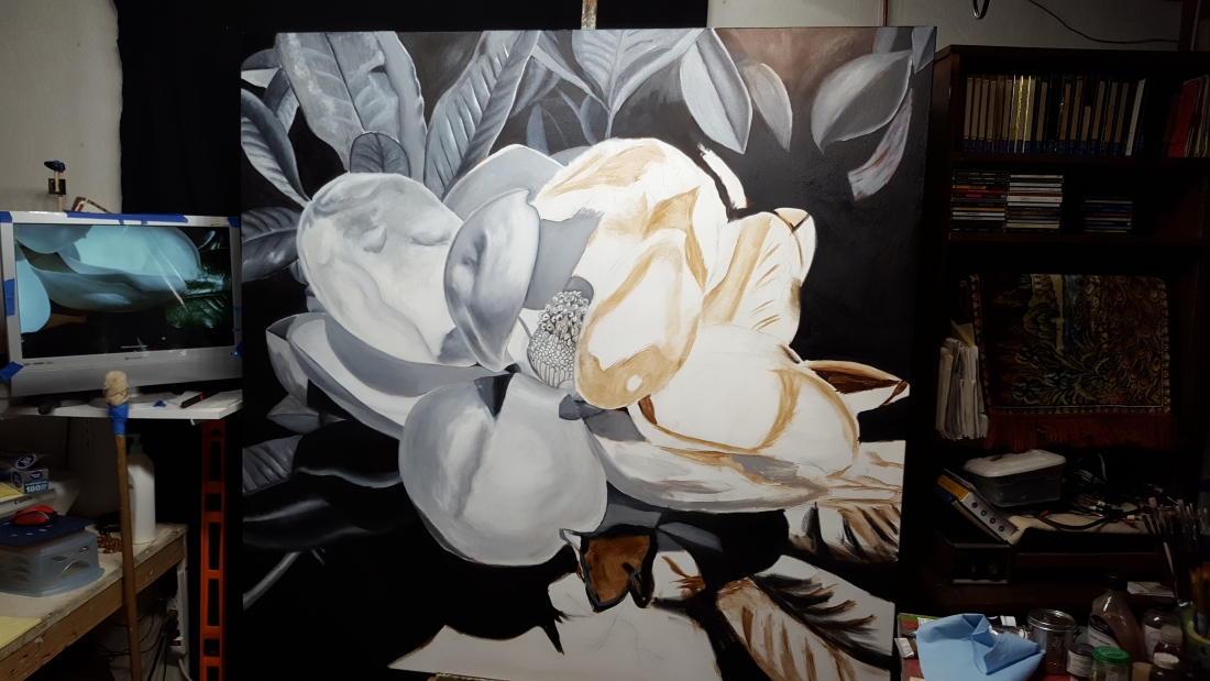 southern magnolia under paintings