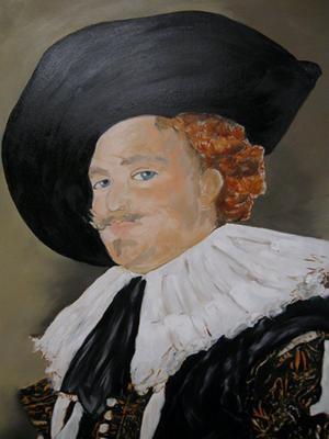 Cavalier Portrait close up