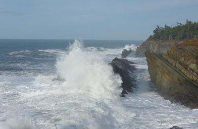 Sea in Motion, Shore Acres, Oregon Coast
