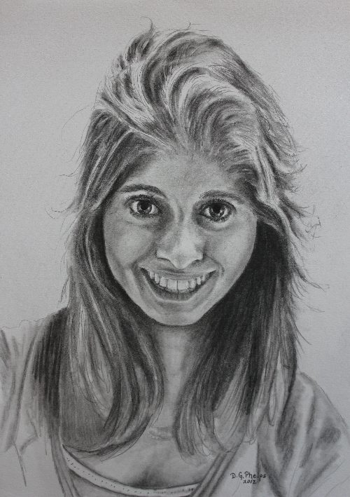 Pencil Drawing A Beautiful Picture Simple And Easy - YouTube |Simple Pencil Portraits
