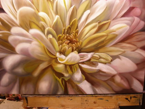 painting of flower