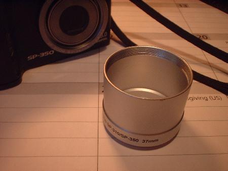 lens adaptor for digital camera