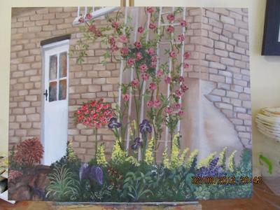 Doorway painting
