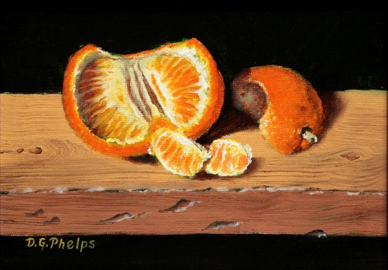 fruit orange art