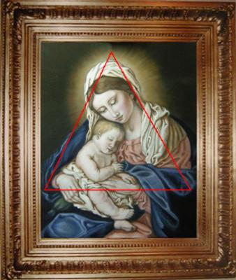 Madonna and Child composition